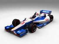 Game Ready Indycar 3D Model