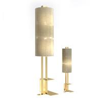 Fendi Chiara Piantana Standing Table l Lamp Set modern