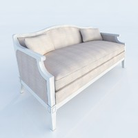 3d laurent salon bench model