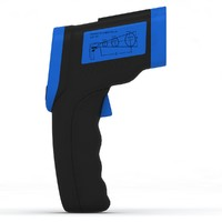max infrared thermometer blue m
