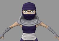 maya assassin fantasy character