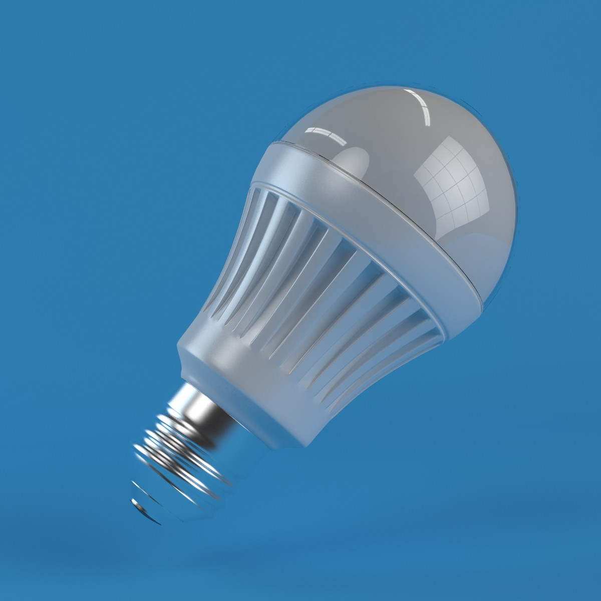 Energy Saver Bulb 3d Max