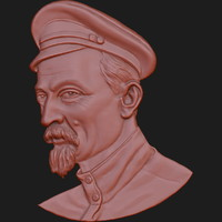 3d model of dzerzhinsky