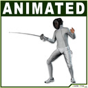 fencer 3D models