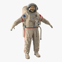 max chinese astronaut wearing space suit