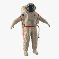 3d model chinese space suit haiying