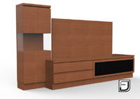 tv stand 5 3ds