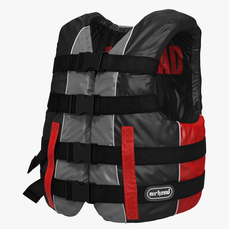 Life Vest Red 3d model 00.jpg
