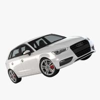 Car Audi A3 Sportback 2013