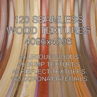 Seamless Wood Textures 4096x4096