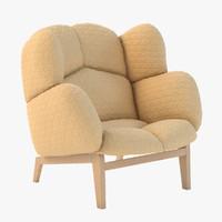 monna chair 3d model