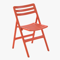 folding air chair 3d model
