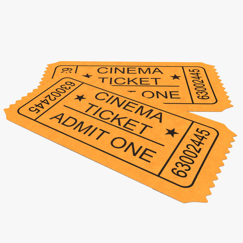 Cinema Ticket 3d model 00.jpg