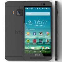 3d htc m9 gunmetal gray model