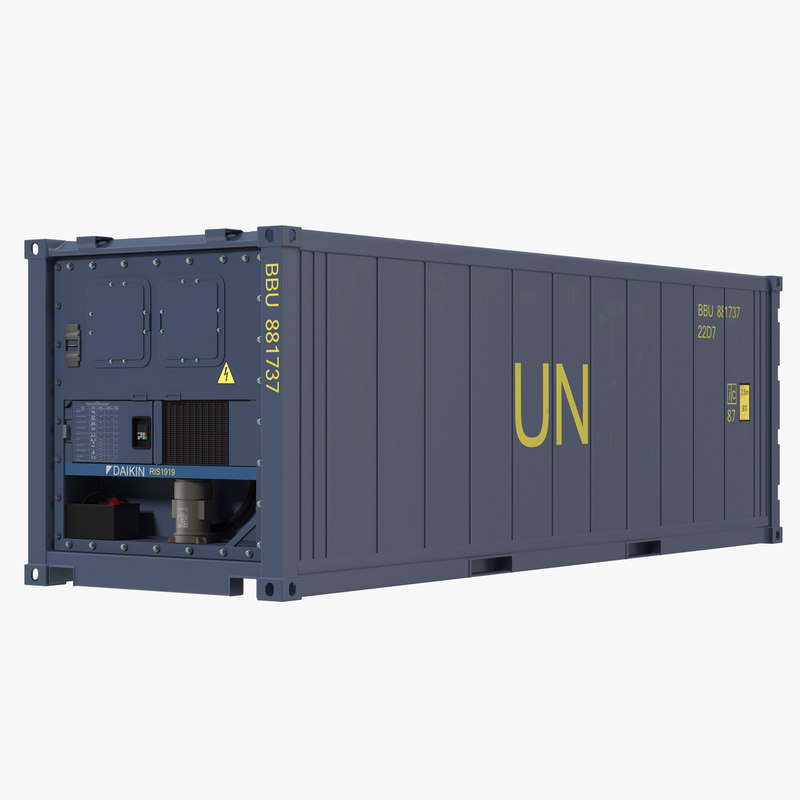 ISO Refrigerated Container Blue 3d model 00.jpg