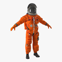 3d advanced crew escape suit model