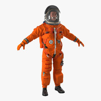 astronaut wearing advanced crew obj