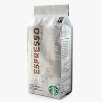 3dsmax starbucks coffee packaging