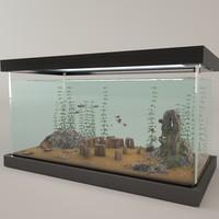 obj fish aquarium