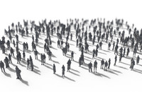 3ds max people crowd