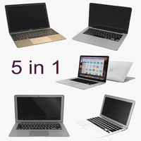 3d model macbooks 2