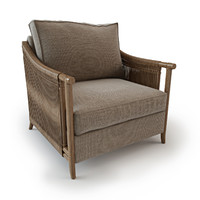 3d model jolie lounge chair