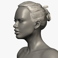 3d 3ds zbrush female andrea