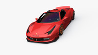 3ds ferrari 458 spider