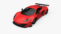 liberty walk mclaren mp4-12c 3d model