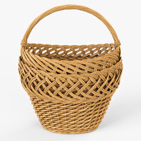 Wicker Basket 01