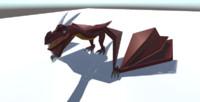 dragon 3d blend