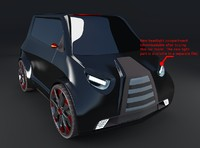 Compact electric concept car 10