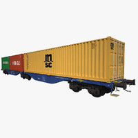 Container Railcar CB Rail Sggrss