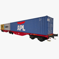 Container Railcar DB Sggrss