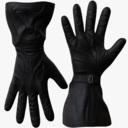 leather gloves 3D models