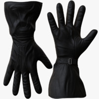 3d model men gloves