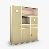 kitchen dresser 3d model