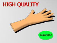 cartoon hand 3ds