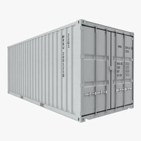 20 ft iso container 3ds