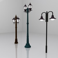 3ds max street light 3