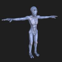 3d model alien roswell
