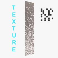 Pixel Gradient Texture