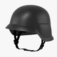 3d model swat helmet