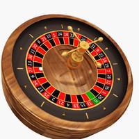 casino - roulette wheel 3d max