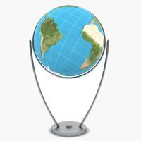 3ds globe