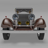 rolls royce phantom ii 3d 3ds