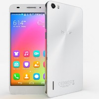 huawei honor 6 3d model