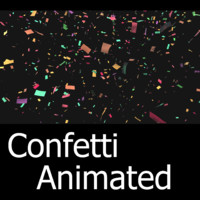 3ds max confetti animation