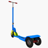obj toy scooter