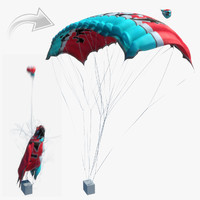 3ds max parachute animations